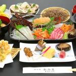 あみ貞の大名屋形船クルーズの料理内容