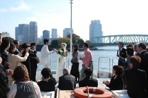 晴海屋で結婚式