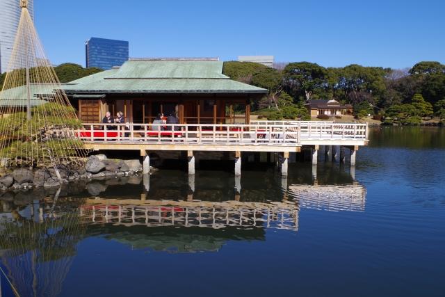 東京のオアシス浜離宮