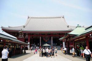 東京 貸切り 屋形船 周辺観光地 浅草寺写真