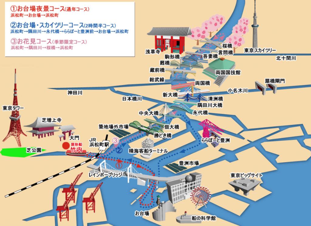 竹内周遊コースマップ