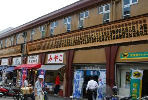 東京 貸切り 屋形船 周辺観光地 築地市場場外市場 写真