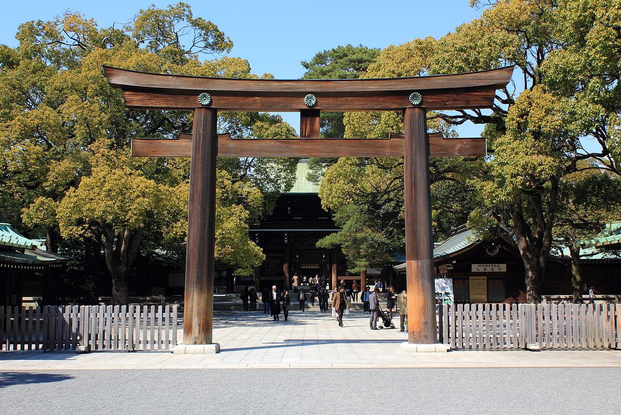 東京明治神宮鳥居貸切