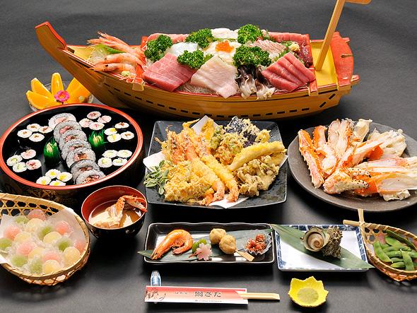 東京屋形船貸切網さだ料理基本コース
