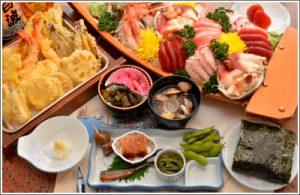 貸切り 屋形船 東京 いわた 基本コース料理写真