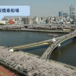 貸切できる桜橋乗船場
