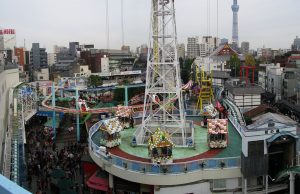 東京 貸切り 屋形船 浅草 周辺観光地 花やしき 写真