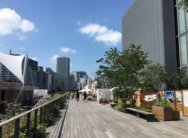 東京天王洲アイルボードウォーク1
