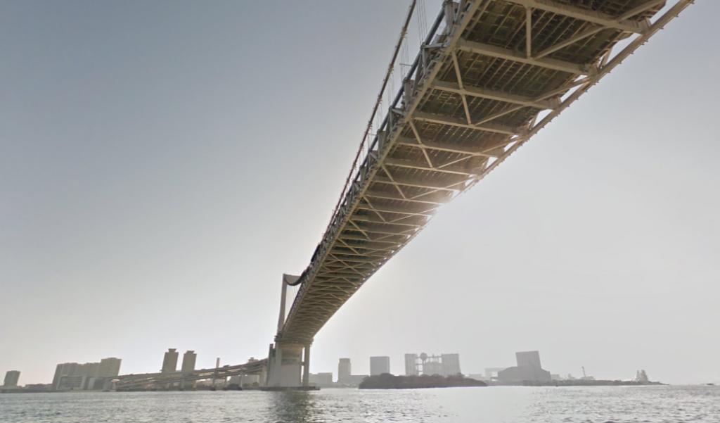 レインボーブリッジ下東京案内