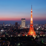 東京タワー夜景写真予約