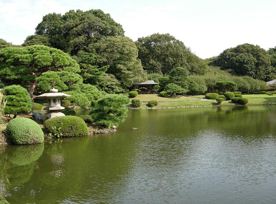 東京新宿御苑日本庭園予約