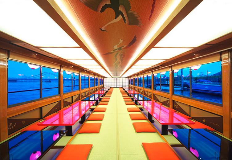 東京の屋形船掘りごたつ席予約