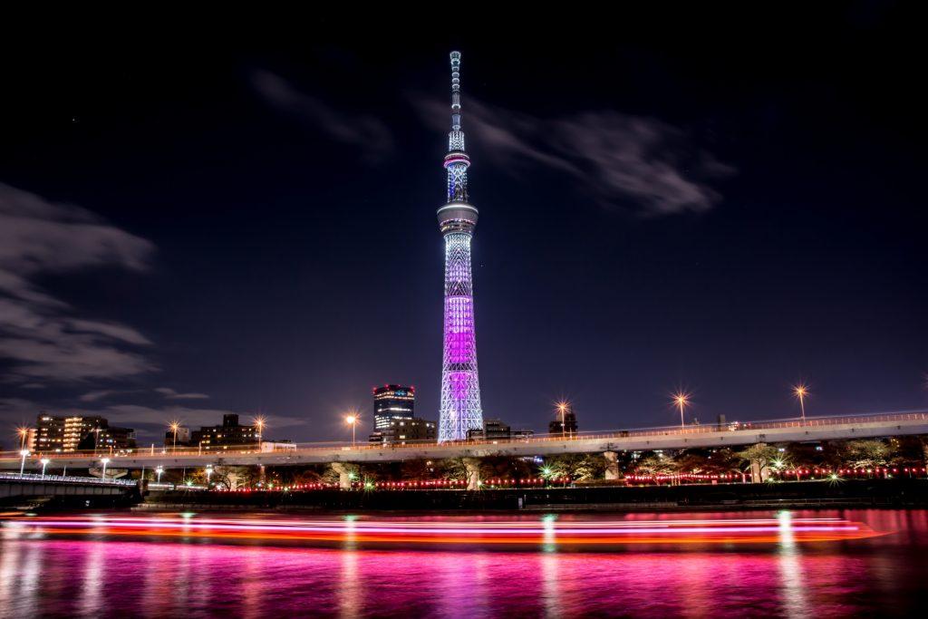 東京スカイツリー夜景貸切