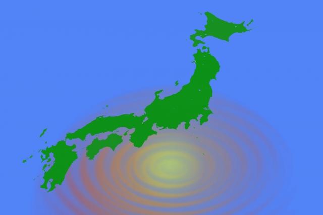 日本へ台風が接近
