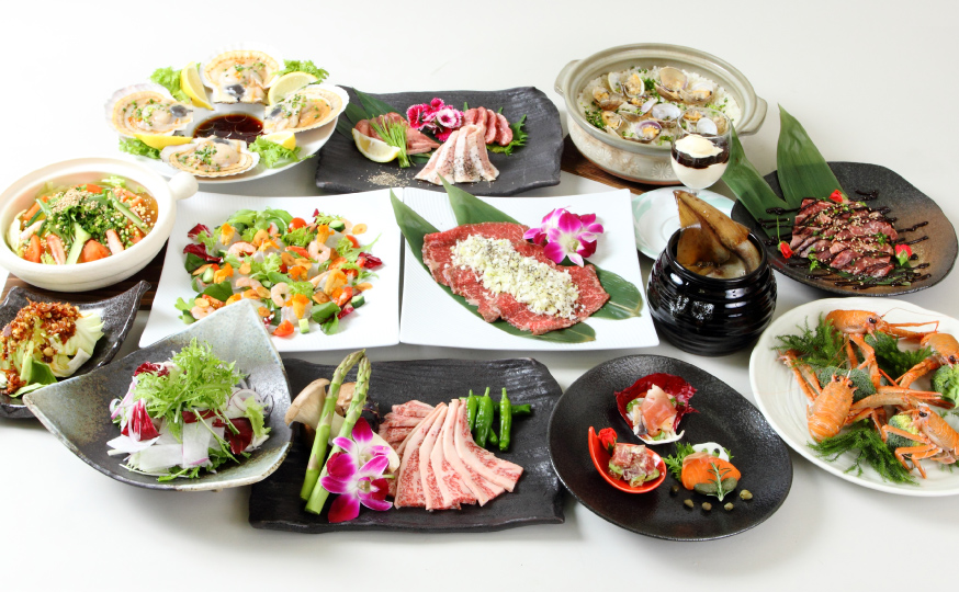 濱田屋の焼肉会席「雅」