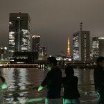 屋形船で東京タワー